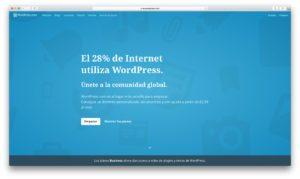 ¿ Porque usar WordPress en mi sitio web ?